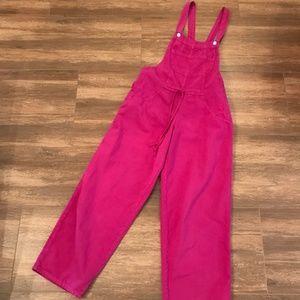 Fuchsia Overalls Jumpsuit